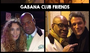 GABANA CLUB FRIENDS CELEBRITIES