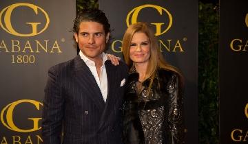 Olivia de Borbón and Julián Porras 1st Anniversary