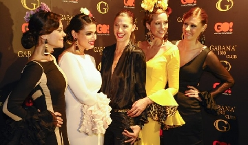 Flamenco fashion show