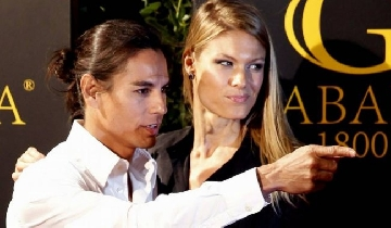 Julio Iglesias Jr and Charisse Verhaert´s party