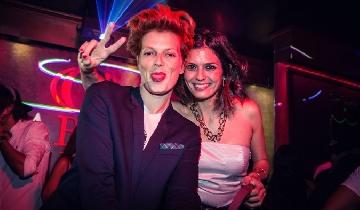 Bimba Bosé y Maria Reyes en Gabana Club
